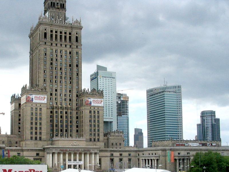 palác kultury a vědy, Varšava, Polsko